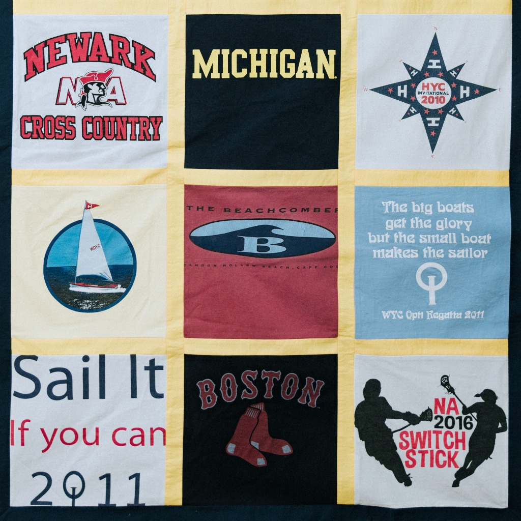 MLTees Custom T-Shirt Quilt Michigan Sailing
