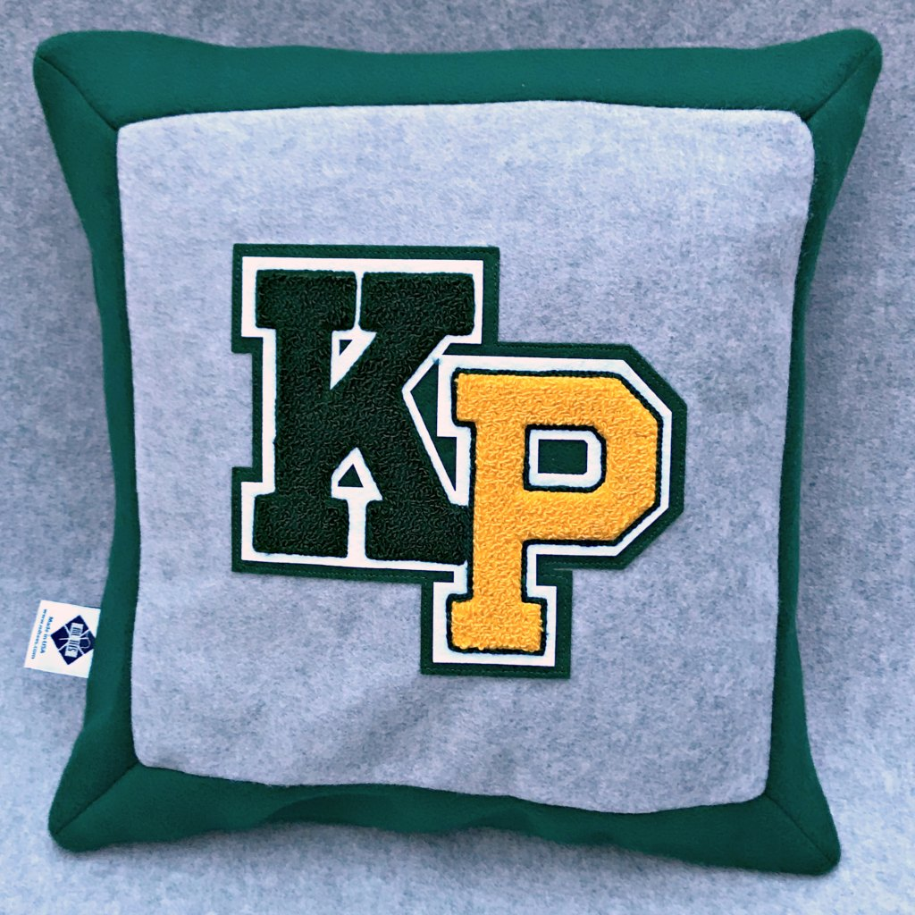 MLTees Custom Letter Pillow Kent Place School